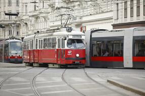 Strassenbahn auf der Linie 37