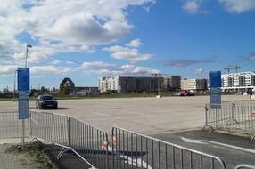 Seestadt Aspern Parkplatz